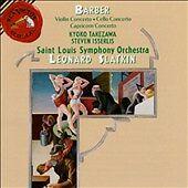 Barber: Violin Concerto; Cello Concerto; Capricorn Concerto (CD, May-1996, RCA)