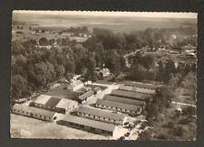 MOURMELON-le-GRAND (51) CAMIONS MILITAIRES aux HANGARS , vue aérienne 1960
