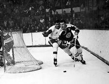 Teddy Green - Boston Bruins, 8x10 B&W Photo