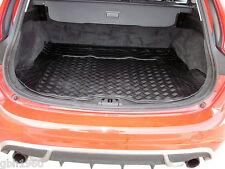 3pc modular rubber boot liner load mat bumper protector Volvo V60  2010-2018