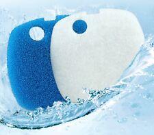 2 porciones de filtro esponjas Sunsun HW-302 303AB 304AB 402AB 403AB 404AB 505AB