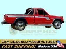 1987 1988 1989 1990 Jeep MJ Comanche SporTruck Sport Pickup Truck Decals Stripes