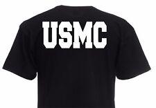 "T-Shirt ""USMC"" Rückendruck! US Army Marines Seals Paratrooper Navy WK2 S-XXL"