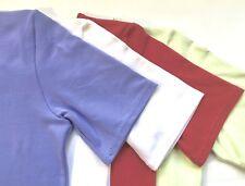 MONDOR Ladies Nylon Supplex Fitted Yoga T-Shirt, 4 Colors, FITS TIGHT, NWD