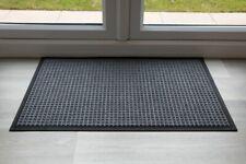 Quality Black Throw Down Heavy Duty Mat Hard Wearing UK Floor Mat