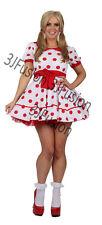 Adulto RAG DOLL GIRL Dolly Fancy Dress Costume Donna Calze gratuito & POST (B