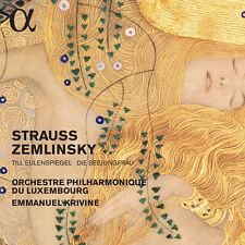 Zemlinsky / Krivine - Strauss: Till Eulenspiegel & Zemlinsky: Die [New CD]