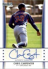 2010 Razor Rookie Retro Prospect Autographs #CC1 Chris Carpenter