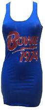 House of the Gods David Bowie 1974 Rare Designer Rock Star Vip Tunic Tank Top S