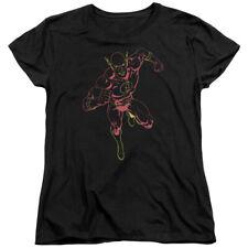 Jla Neon Flash Womens Short Sleeve Shirt