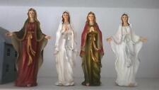 HOME KONTOR Madonna Figur Kirche Krippe 26cm 4 zur Wahl rot weiß betend Neu
