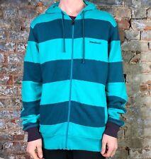Fenchurch Mens Rush Zip Hood Hoodie Brand New in Ceramic Blue in size Medium
