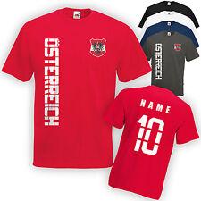 Österreich T-Shirt Trikot incl. Name & Nummer S M L XL XXL