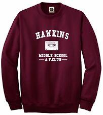 Hawkins Middle School AV Club || Stranger Things || Unisex Jumper Sweatshirt Top