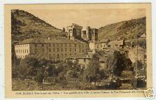 BLESLE (43) TOUR POLYGONALE ET CLOCHER en 1948