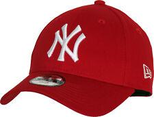 NY Yankees New Era 940 Kids Scarlet Baseball Cap (Age 4 - 10 years)