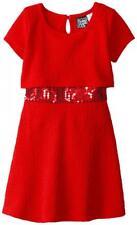 Pogo Club Girls Red Jessica Dress Size 4 5/6 6X $40