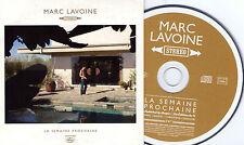 CD CARTONNE CARDSLEEVE COLLECTOR 1T MARC LAVOINE LA SEMAINE PROCHAINE 2009