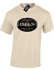 BUFFALO BILLS LOTION MENS T SHIRT HANNIBAL SILENCE OF THE LAMBS CLASSIC (COL)