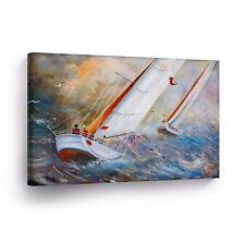 Modern Oil Painting on Canvas Print Wall Decor Art Framed %100 Handmade OPH12