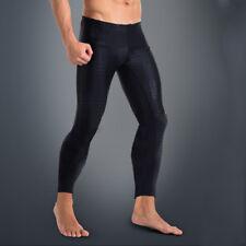 Men Quick Dry Rash Guard Tight Leggings Anti-UV Lycra Fitness Swim Surf Pants