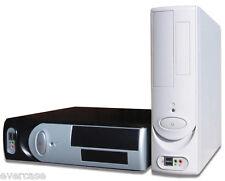 Micro ATX PC Desktop Slim case, chassis del computer. Nero/Beige/Rosso/Blu. oe1380