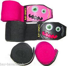 3D BAY monster face KINDER Boxbandagen Kids Box-Bandagen Muay Thai Thaiboxen MMA