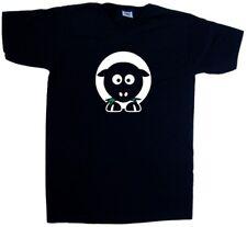 Dibujos Animados ovejas Escote En V Camiseta