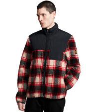 Element Abenaki Warm Zip Jacket in Black Red