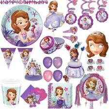 Disney Sofia la Première Fête Enfants D'Anniversaire Kit Déco Princesse Mauve