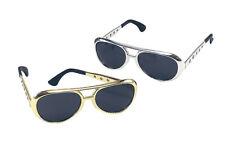 Elvis Sunglasses Glasses Accessory for 50s 60s 70s Fancy Dress