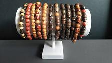 Unisex Boho/Hippy Wooden bracelets