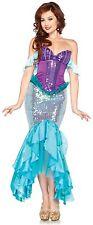 Adult The Little Mermaid Disney Princess Ariel Enchanting Deluxe Dress Costume