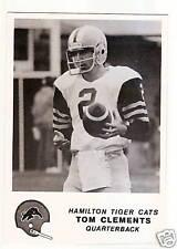 1981 Jogo CFL Hamilton Tigercats Team Set