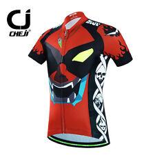 CHEJI Children Cycling Jersey Kids Boys Reflective Bike Bicycle Sportwear Shirts