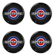 TRIUMPH Spitfire Target Logo Autoadesivo Set di 4 centri in gel RUOTA