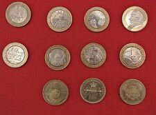 1986 - 2015 £ 2 dos libras monedas declaración de derechos palomas de la paz Primera Guerra Mundial