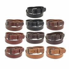 """1 1/4"""" Heavy Duty Leather Work_Gun Holster Belt Stitched_Gun Metal Buckle"""