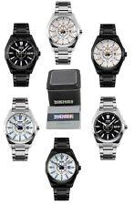 Skmei Men Watch Formal Luxury Analogue Watches Stainless Steel w/ Box & Warranty