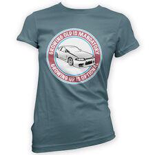 Grow Up Optional Skyline Womens T-Shirt -x14 Colours R33 Funny JDM Drift Furious