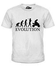 QUAD BIKE EVOLUTION OF MAN KIDS T-SHIRT TEE TOP GIFT CLOTHING