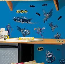 Batman Wall Decor 2 Borders Applique set & Large Mural!