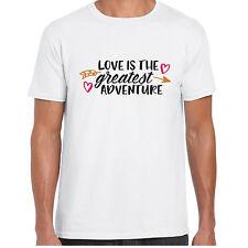 L'amore è il più grande avventura-menst Camicia-VALENTINE Regalo Di Compleanno