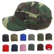 Baseball Cap Plain Pocket Cadet Patrol Military Hats Camo Army Caps Fashion