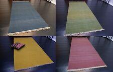 Handgewebter Gashgai Kelim UNI Farbe Teppich Handarbeit wolle verschiedene Größe