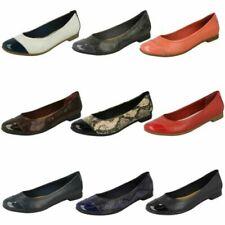Ladies Clarks Slip On Shoes Atomic Haze