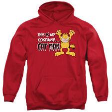 Garfield Cat Man Pullover Hoodies for Men or Kids