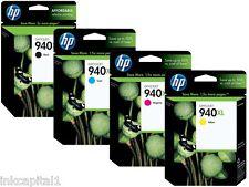 HP No 940XL Multipack Set di 4 OEM Cartucce Getto D'inchiostro B,C,M,Y Officejet