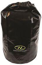 NUOVO in PVC Tri laminato Highlander Drybag Nero Duro Dry Bag strato forte 3 Taglie
