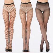 Ladies Women's Net Fishnet Bodystockings Pattern Pantyhose Tights Stockings SML